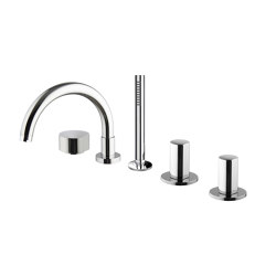 So F3174 | Deck mounted bath mixer | Bath taps | Fima Carlo Frattini