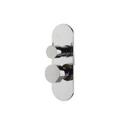 So F3189X6 | Mezclador empotrado con desviador 2/3 salidas | Grifería para duchas | Fima Carlo Frattini