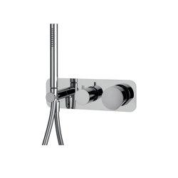 So F3169X2 | Mezclador empotrado para ducha 2 salida con set de ducha | Grifería para duchas | Fima Carlo Frattini