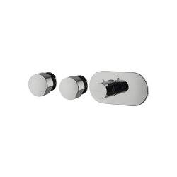 So F3183X2 | Mezclador termostático empotrado | Grifería para duchas | Fima Carlo Frattini
