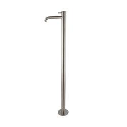 Spillo Steel F3071/P | Floor mounted basin mixer INOX | Wash basin taps | Fima Carlo Frattini