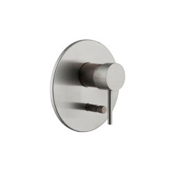 Spillo Steel F3079X2 | Single lever bath and shower mixer for concealed installation with 2 outlets diverter | Shower controls | Fima Carlo Frattini