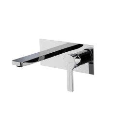 Matrix F3541X5 | Monobloc para lavabo empotrado | Grifería para lavabos | Fima Carlo Frattini