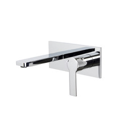 Mast F3141X5 | Wall mounted wash basin mixer | Wash basin taps | Fima Carlo Frattini