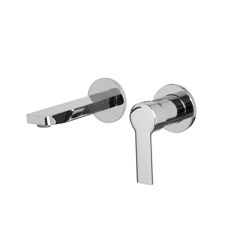 Mast F3141X8 | Wall mounted wash basin mixer | Wash basin taps | Fima Carlo Frattini