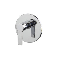 Mast F3139X1 | Single lever bath and shower mixer for concealed installation | Shower controls | Fima Carlo Frattini