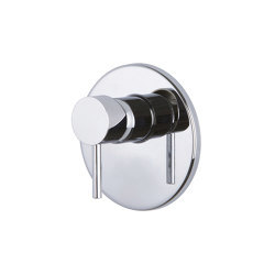 Maxima F5309X1 | Single lever bath and shower mixer for concealed installation | Shower controls | Fima Carlo Frattini