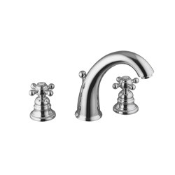 Elizabeth F5101 | 3-holes basin mixer | Wash basin taps | Fima Carlo Frattini