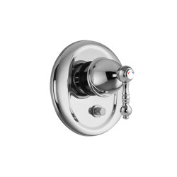 Elizabeth F5089X2 | Single lever bath and shower mixer for concealed installation with 2 outlets diverter | Shower controls | Fima Carlo Frattini