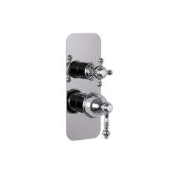 Elizabeth F5089X6 | Mezclador empotrado con desviador 2/3 salidas | Grifería para duchas | Fima Carlo Frattini