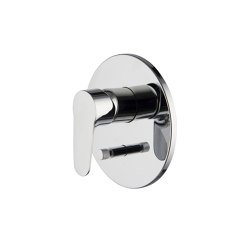 Serie 22 F3839X2 | Single lever bath and shower mixer for concealed installation with 2 outlets diverter | Shower controls | Fima Carlo Frattini