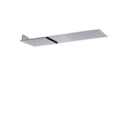 Showerhead F2346 | Wall mounted stainless steel showerhead | Shower controls | Fima Carlo Frattini