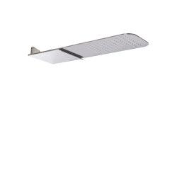 Showerhead F2347 | Wall mounted stainless steel showerhead | Shower controls | Fima Carlo Frattini
