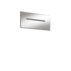 Showerhead F2782 | Waterfall stainless steel wall-mounted spout | Shower controls | Fima Carlo Frattini