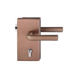FSB 1242 Glass-door hardware | Handle sets for glass doors | FSB
