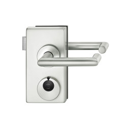 FSB 1016 Fitting versions for glass doors | Handle sets for glass doors | FSB