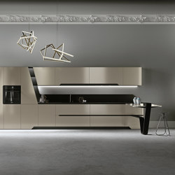 Vision | Cement grey | Cocinas integrales | Snaidero USA