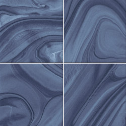Hanami | Mankai Indigo | Ceramic tiles | VIVES Cerámica