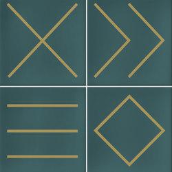 Hanami | Nagano Turquesa | Ceramic tiles | VIVES Cerámica