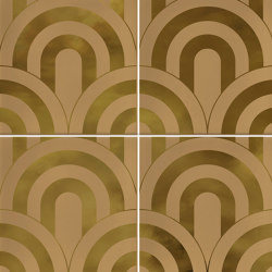 Hanami | Takada Caramelo Oro | Ceramic tiles | VIVES Cerámica