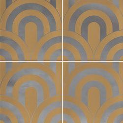 Hanami | Takada Caramelo Plata | Baldosas de cerámica | VIVES Cerámica