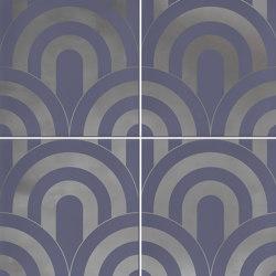 Hanami | Takada Indigo Plata | Ceramic tiles | VIVES Cerámica