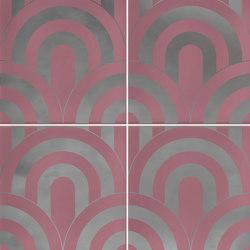 Hanami | Takada Marsala Plata | Carrelage céramique | VIVES Cerámica