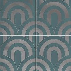 Hanami | Takada Turquesa Plata | Carrelage céramique | VIVES Cerámica
