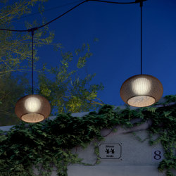 Garota Catenary S/27/4L Outdoor | Lampade outdoor sospensione | BOVER