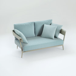 Aikana sofa with armrests | Sofas | Fast