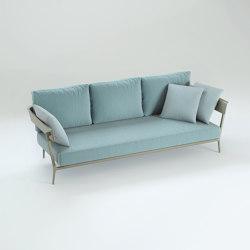 Aikana sofa with armrests | Canapés | Fast