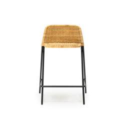 Kakī Stool with Backrest | Tabourets de bar | Feelgood Designs