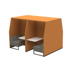 Bricks Workspot | Sound absorbing furniture systems | Casala
