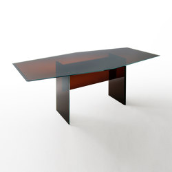 Bisel | High Table | Mesas comedor | Glas Italia