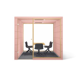 MICROOFFICE QUADRIO | Room-in-room systems | SilentLab
