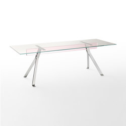 Mari Cristal | Dining tables | Glas Italia