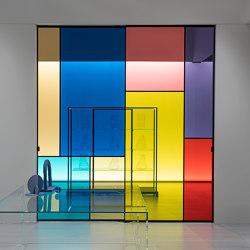 Sherazade Patchwork | Portes intérieures | Glas Italia
