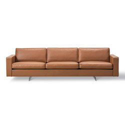 Risom 65 Sofa 3 seater Metal Base | Sofas | Fredericia Furniture