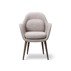Swoon Chair Wood Base | Sillas | Fredericia Furniture