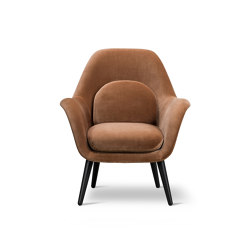 Swoon Lounge Petit Wood Base | Sessel | Fredericia Furniture