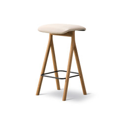 Yksi Stool (Seat upholstered) | Barhocker | Fredericia Furniture
