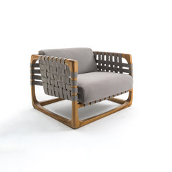 Bungalow Outdoor Armchair | Armchairs | Riva 1920