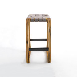 Bungalow Outdoor Bar Stool | Taburetes de bar | Riva 1920