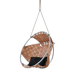Cocoon Hang Chair Leather | Columpios | Trimm Copenhagen