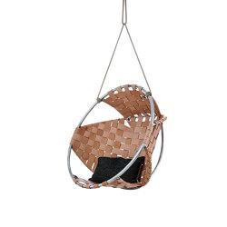 Cocoon Hang Chair Leather | Swings | Trimm Copenhagen