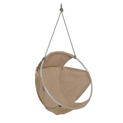 Cocoon Hang Chair Outdoor Taupe | Swings | Trimm Copenhagen