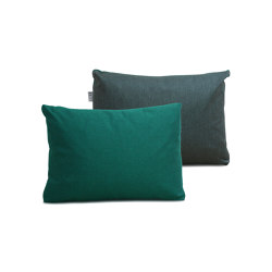 Duo Color Cushion Dark Green / Grey | Cushions | Trimm Copenhagen