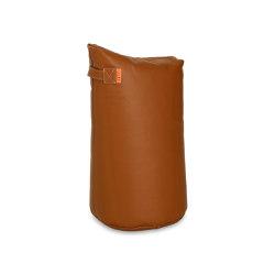 Satellite Leather 68 Cognac | Pufs saco | Trimm Copenhagen