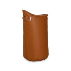 Satellite Leather 78 Cognac | Pufs saco | Trimm Copenhagen