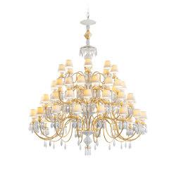 Belle de Nuit 56 Lights Chandelier | Golden Luster (CE/UK) | Chandeliers | Lladró